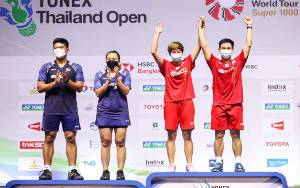 Praveen - Melati Koreksi Diri Usai Gagal Juara Thailand Open 2021