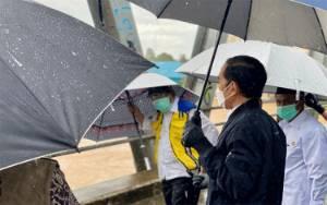 Tinjau Banjir di Kalsel, Jokowi: Banjir Besar ini yang Pertama Dalam 50 Tahun Terakhir