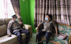 Silaturahmi Kamtibmas, Kapolsek Bulik Ingatkan 4 Fokus Kapolda Kalteng