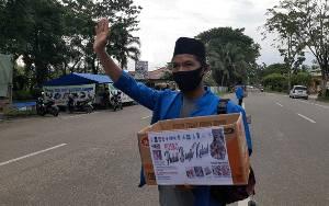 Aktivis Kapuas Lakukan Aksi Sosial Galang Dana untuk Masyarakat Kalsel