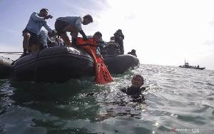 Basarnas Kumpulkan Total 310 Kantong Jenazah Korban Pesawat SJ-182