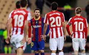 Lionel Messi Hanya Dihukum 2 Laga Setelah Pukul Villalibre
