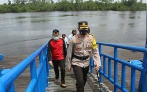 Antisipasi Karhutla dan Bencana Alam, Kapolres Kunjungi BPBD Seruyan