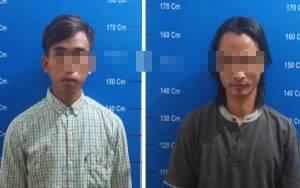 Polisi Ringkus 2 Pengedar Sabu di Palangka Raya