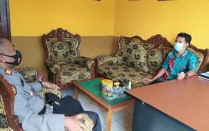 Sambangi Kantor Desa Sungai Undang, Kapolsek Seruyan Hilir Sampaikan Ini