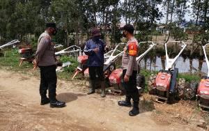 Bhabinkamtibmas Food Estate Sambangi Warga Dadahup Sampaikan Pesan Kamtibmas