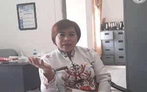 PKL di RTH Tidak Mau Tempati Pasar Yang Disiapkan Pemkab Gunung Mas