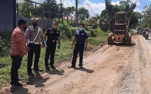 Pemkab Kotim Masih Lakukan Tambal Sulam Kerusakan Jalan HM Arsyad