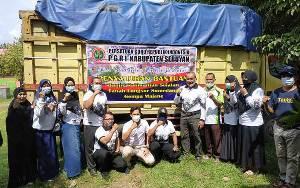 PGRI Seruyan Galang Donasi Bantu Warga di Wilayah Bencana