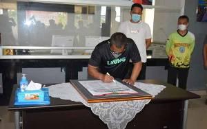 Wakil Gubernur Kalteng Dukung Pencanangan Pembangunan Zona Integritas di Lamandau