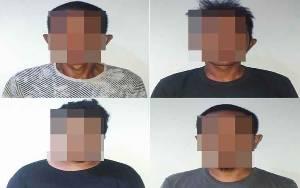 Empat Pria Ini Diamankan Kerena Bawa Kayu Ilegal