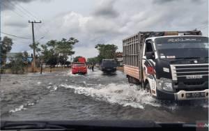 Jalur Jalan Banjarbaru - Tanah Laut Sudah Bisa Dilintasi