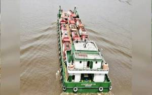 Pertamina Gunakan LCT Pasok BBM di Barito Timur