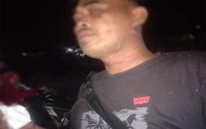 Kabel Membentang di Jalan Lilit Leher Pengendara, Dua warga Terjatuh