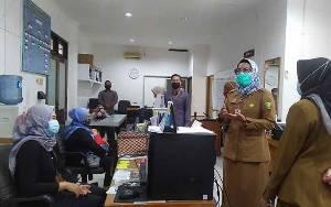 Sekda Palangka Raya Sidak Pegawai Sekretariat
