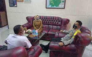Wakil Bupati Seruyan Berkunjung ke Kapolres Seruyan