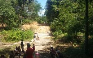 Sebagian DD Tumbang Tariak 2020 Digunakan Untuk Bangun Jalan Desa