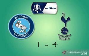 Winks dan Ndombele Pastikan Kemenangan Tottenham di Kandang Wycombe