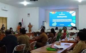 Bupati Katingan Buka FGD Perencanaan Pembangunan Berkelanjutan Konservasi Katingan untuk Borneo