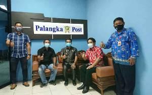Bupati Murung Raya Kunjungi Kantor Palangka Post dan Borneonews