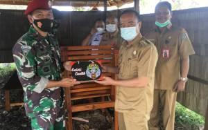 Komandan Pos TNI-AL Kuala Pembuang Pindah Tugas, Bupati Seruyan Sampaikan Ini