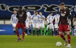 Feyenoord Dibuat tak Berdaya di Markas Heerenveen