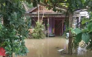Beberapa Sungai di Barito Timur Meluap, BPBD Turunkan Tim