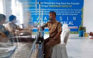 Wakil Bupati dan Ketua DPRD Gunung Mas Tidak Bisa Disuntik Vaksin Covid-19, ini Penyebabnya