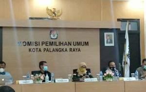 KPU Palangka Raya Usulkan Pemekaran Kelurahan dan Peningkatan Kualitas Jaringan Internet
