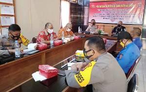 BPBD Barito Timur Ikuti Supervisi Penanganan Karhutla Polda Kalteng