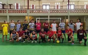Polres Kotim dan PWI Jaga Kesehatan untuk Tingkatkan Imunitas Melalui Futsal Persahabatan