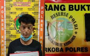 Kedapatan Simpan Sabu, Pemuda Ini Ditangkap Polisi