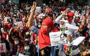 Partai NLD Aung San Suu Kyi Minta Sekjen PBB Gagalkan Kudeta Militer di Myanmar