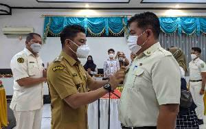 Bupati Lantik dan Kukuhkan Purna Paskibraka Indonesia Kotim