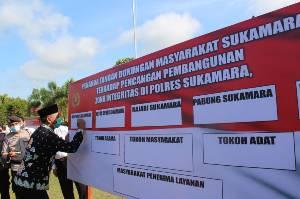 Polres Sukamara Canangkan Pembangunan Zona Integritas