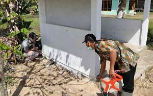 Tim Kecamatan Bataguh Monitoring dan Evaluasi ADD dan DD di Bangun Harjo