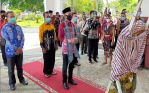 Bupati Murung Raya Terima Kunjungan Wakil Bupati Hulu Sungai Tengah