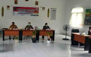 Pemerintah Kecamatan Bataguh Monitoring dan Evaluasi di Tiga Desa