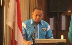 Waket I DPRD Palangka Raya Minta Pemuda Jadi Pelopor Prokes