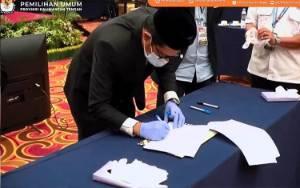 KPU Kalteng Resmi Tetapkan Sugianto-Edy Pemenang Pilkada Kalteng