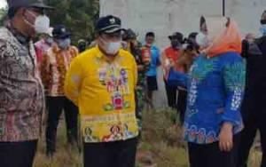 Pemkab Kobar akan Relokasi 7 Rumah Warga Desa Keraya Terdampak Abrasi