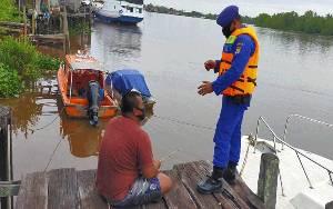 Polairud Polres Seruyan Giatkan Patroli Sambang Warga