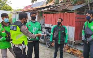 Satlantas Polresta Palangka Raya Patroli Sambil Sosialisasi Prokes