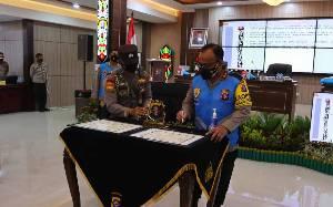 Kapolda Kalteng Pimpin Penandatanganan Pakta Integritas Seleksi PKN