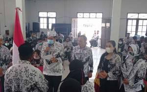 Usnanto Terpilih Kembali Jadi Ketua PGRI Kecamatan Cempaga Secara Aklamasi