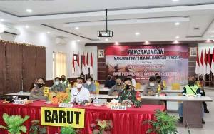 Pemkab Barito Utara Siap Bersinergi Dalam Penanggulangan Karhutla