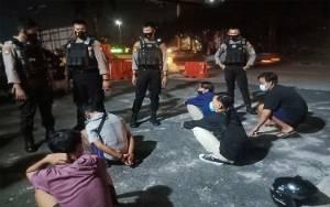 Polisi Kembali Amankan Para Pemuda Terlibat Balapan Liar di Palangka Raya