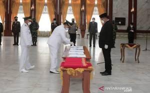 Pj Gubernur Kalsel Tekankan 4 Hal untuk Kepala Daerah Baru