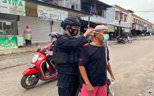 Operasi Aman Nusa II di Palangka Raya Terus Tegakan Prokes