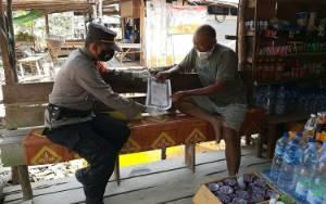 Polsek Arsel Gencarkan Sosialisasi Maklumat Kapolda Kalteng Terkait Karhutla